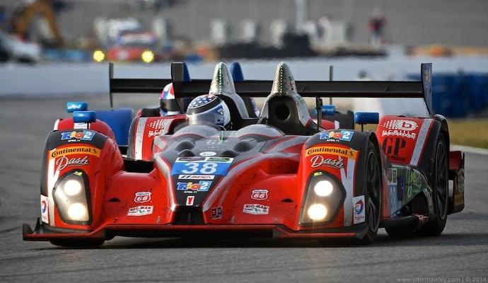 Tomy Drissi disputou as 24 Horas de Daytona com carro da animação 'Rio 2' (Foto: Divulgação )