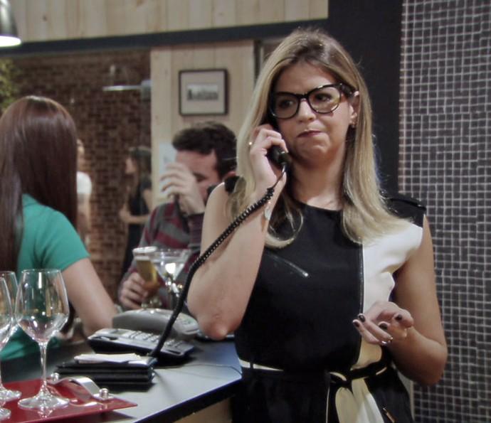 Zorra mostra como lidar com atrasos de pedidos nos restaurantes (Foto: TV Globo)