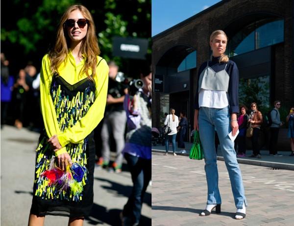 A combinação de blusas e vestidos de alcinha com outras peças por baixo está em alta (Foto: Imax Tree)