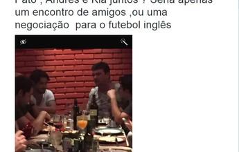 """Caio Ribeiro crê que jantar é """"jogo de cena"""" e Pato não volta ao Corinthians"""