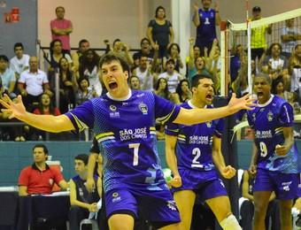 São José Vôlei Sesi-SP (Foto: Tião Martins/PMSJC)