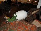 Restauração de dinossauros pode custar até R$ 20 mil em Nioaque, MS