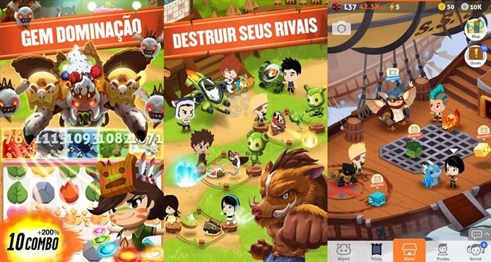 Divertido jogo mistura MMORPG com puzzles (Foto: Divulgação)