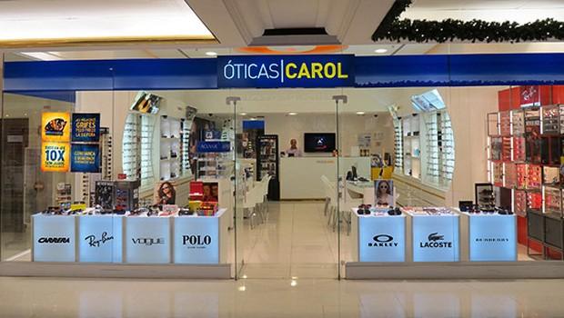 Loja da rede Óticas Carol (Foto: Divulgação)