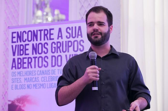 Luiz Felipe Barros, Country Manager da Viber fala sobre 'Grupos Abertos'  (Foto: Divulgação/Viber)
