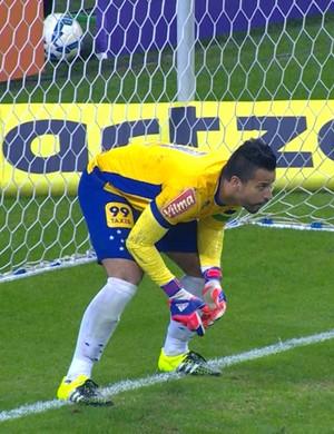 Fábio Cruzeiro x Grêmio (Foto: Reprodução /Premiere)
