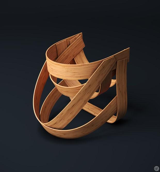 design_cadeira_bamboo_dutch_designs (Foto: Guillaume Favre)
