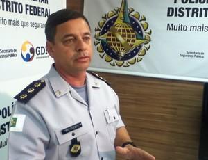 Cel Cléber Lacerda PMDF  (Foto: Fabrício Marques)