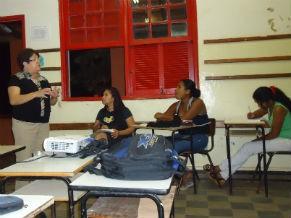 Professora Onilda Sanches Educação Indígena (Foto: Divulgação)