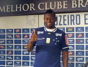 Riascos, novo atacante do Cruzeiro.