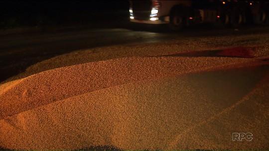 Caminhoneiros têm carga furtada na região do Porto de Paranaguá