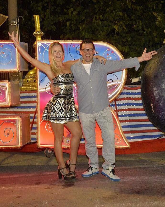 Ex-dupla do 'Dança' curte pré-carnaval (Foto: Arquivo pessoal)