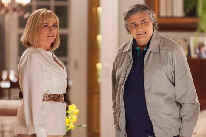 Vera Holtz e Tarcísio Meira serão Magnólia e Fausto (Foto: Arthur Meninea /  Globo)
