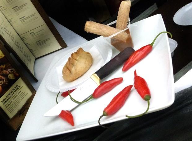 Os pratos doces também são destaque na Feira Gastronomia no Palácio (Foto: Tk Santos/ RPC)