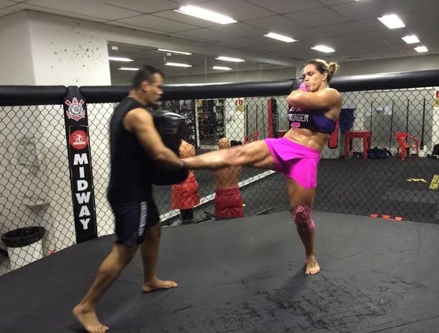 Gabi Garcia, jiu-jítsu (Foto: Arquivo Pessoal)