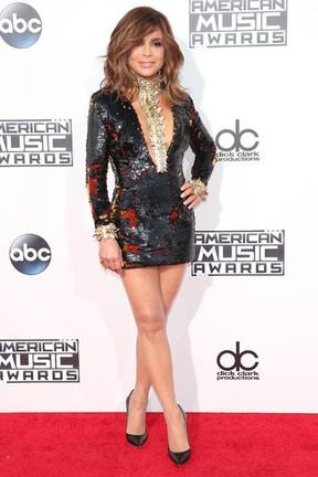 Paula Abdul em prêmio de música em Los Angeles, nos Estados Unidos (Foto: Jason Merritt/ Getty Images/ AFP)