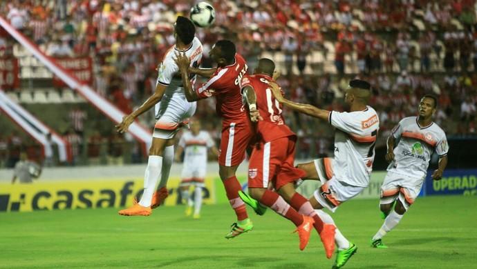 CRB x Santa Rita, Rei Pelé (Foto: Ailton Cruz / Gazeta de Alagoas)