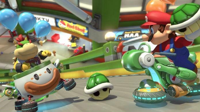 Mario Kart 8 Deluxe resgata o clássico Battle Mode (Foto: Divulgação/Nintendo)