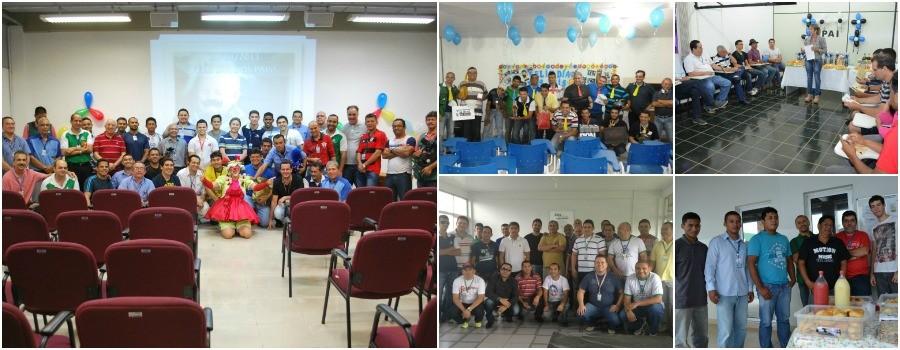 Dia dos Pais é comemorado entre funcionários da Rede Amazônica (Foto: Onofre Martins/ Rede Amazônica)
