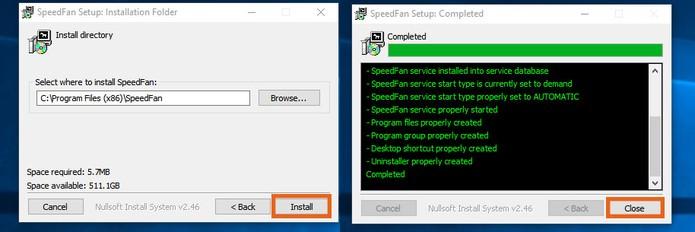Conclua a instalação do Speed Fan no PC (Foto: Reprodução/Barbara Mannara)