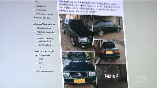 Perfis falsos em redes sociais são usados para aplicar golpes no MA, diz polícia