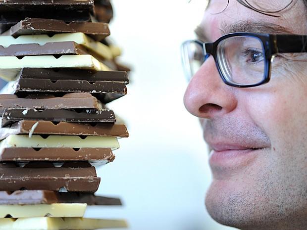 Chocolate (Foto: Universidade de Warwick/Divulgação)
