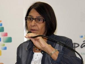 Deputada Janete Capiberibe foi a única a se posicionar a favor do acordo (Foto: Sal Lima/Agência Amapá)