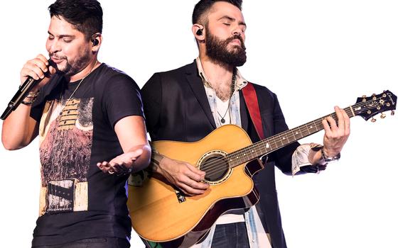 O show da dupla Jorge e Matheus acontece domingo, encerrando a programação do Villa Mix  (Foto: Divulgação)