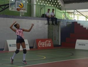 Istéfani Cosme, jogadora de vôlei (Foto: Larissa Keren / GloboEsporte.com/pb)