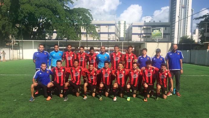 Sport venceu o Náutico por 1 a 0, pela nona rodada do PE de Futebol 7 (Foto: Divulgação / Federação Society PE)