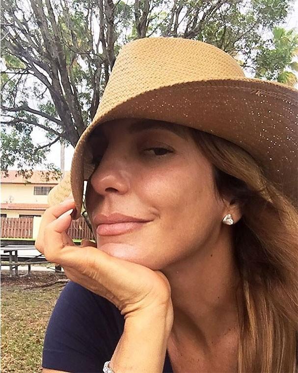 Ivete Sangalo sem maquiagem (Foto: Reprodução/Instagram)