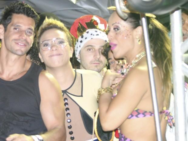 mascarados carnaval 2013; bahia (Foto: Ronaldo Silva / G1)