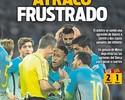 """Imprensa critica árbitro em derrota do Barcelona na Copa do Rei: """"Assalto"""""""