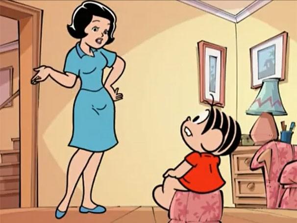 Resultado de imagem para mãe da mônica