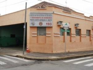 Nova base da GM em Santa Bárbara vai ocupar o prédio do Corpo de Bombeiros (Foto: Cláudio Mariano)