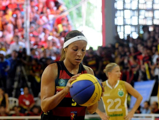 sport x americana basquete feminino final lbf (Foto: Aldo Carneiro / Pernambuco Press)