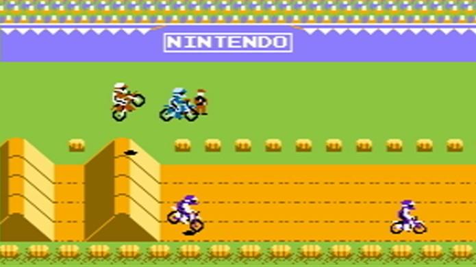 ExciteBike era uma corrida de motos com tradicional jeito Nintendo de ser (Foto: Wikipedia)