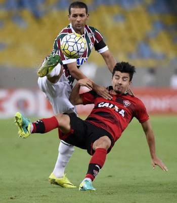 Pierre Fluminense x Vitória (Foto: André Durão)