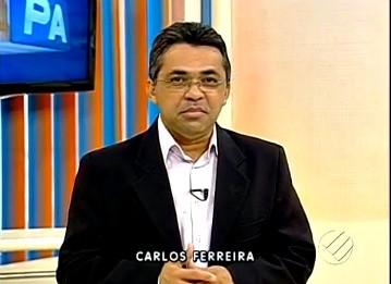 Carlos Ferreira  (Foto: Reprodução/TV Liberal)