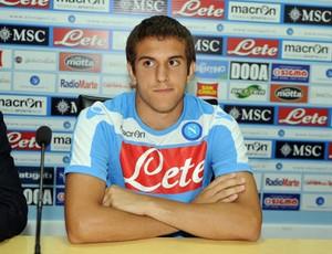Bruno Uvini napoli (Foto: Divulgação/Site Oficial Napoli)