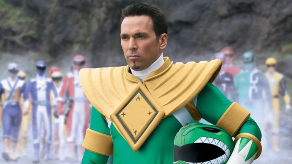 Jason David Frank interpretou o ranger verde original em 'Power Rangers' (Foto: Divulgação/Saban Entertainment)