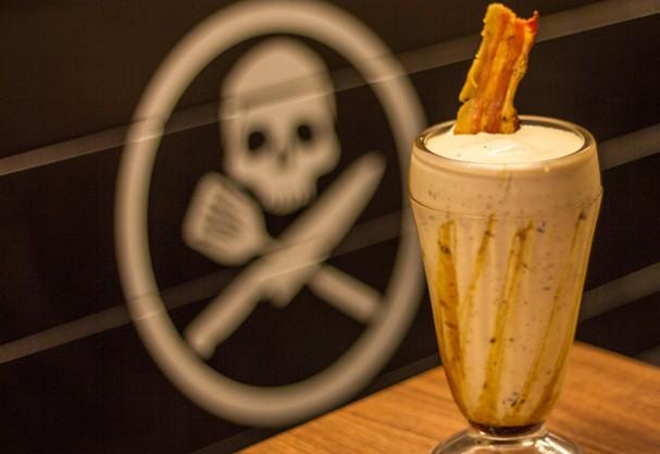 milkshake com farofa de bacon (Foto: Divulgação)