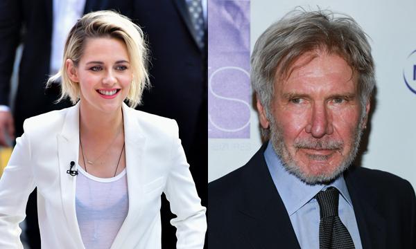 Kristen Stewart e Harrison Ford (Foto: Divulgao)