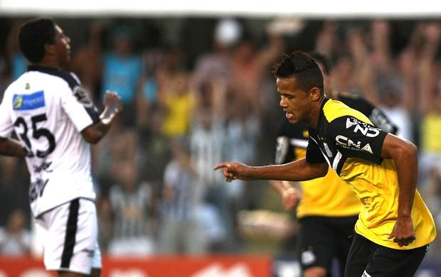 Geovanio do Santos gol Santos x Comercial (Foto: Lucas Baptista / Futura Press)