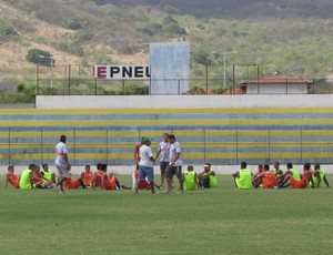 Itapipoca, treino (Foto: Juscelino Filho)