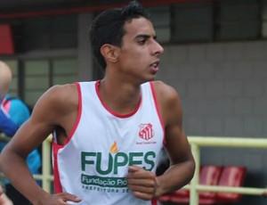 Rodrigo Valério (Foto: Divulgação / Federação Paulista de Atletismo)