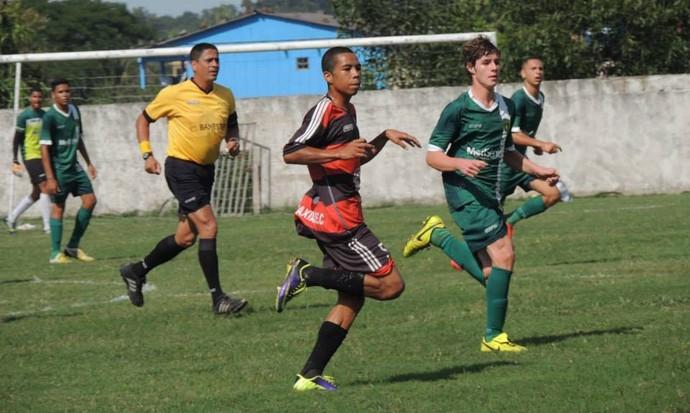 Campeonato Capixaba Sub-17 2015: Porto Vitória x Caxias-ES (Foto: Zilma Pereira)