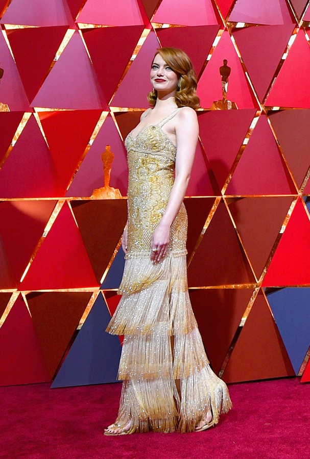 HOLLYWOOD, CA - FEBRUARY 26: Actor Emma Stone attends the 89th Annual Academy Awards at Hollywood & Highland Center on February 26, 2017 in Hollywood, California.  (Photo by Kevork Djansezian/Getty Images) (Foto: Getty Images)