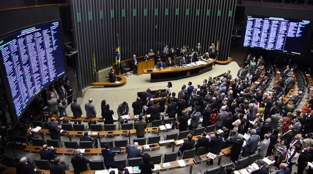 Sessão plenária para análise e discussão da Reforma Política (Foto: Agência Brasil)