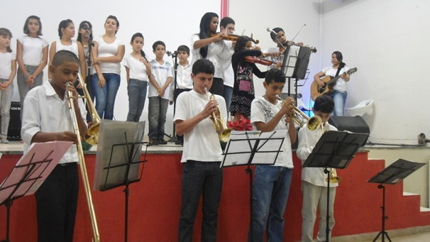 Orquestra Sementes do Reino (Foto: Arquivo/Divulgação)